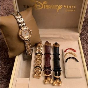 EUC Vintage Disney Mickey Mouse Watch Set